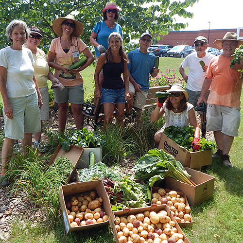 Photo: Monmouth County Master Gardeners With Harvest. Nice Look